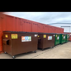 Front Load Trash Service